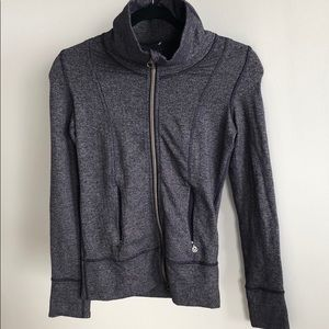 Lululemon Indigo herringbone  zip up